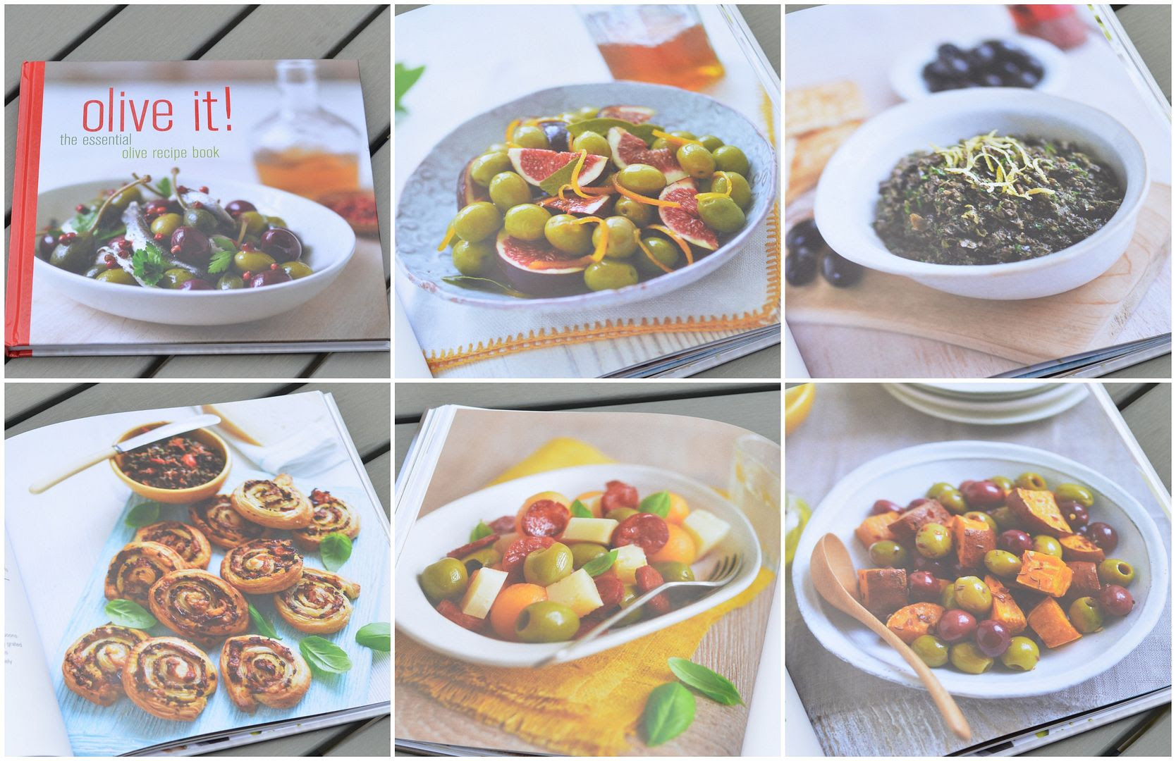 olive it! cookbook