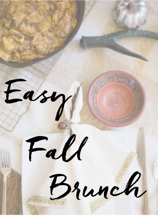 EASY FALL BRUNCH ENTERTAINING IDEAS - Daly Digs