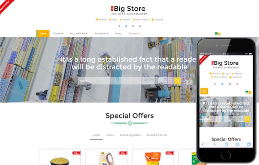 Big store a E commerce Online Shopping Flat Bootstrap Responsive Web Template