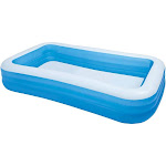 Intex 10ft x 2in Swim Center Family Backyard Inflatable Kiddie Swimming Pool by VM Express