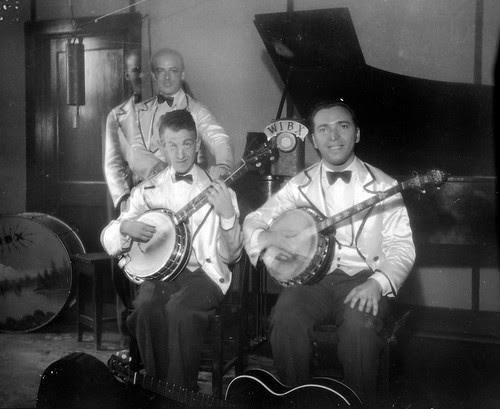 Two Banjo Players