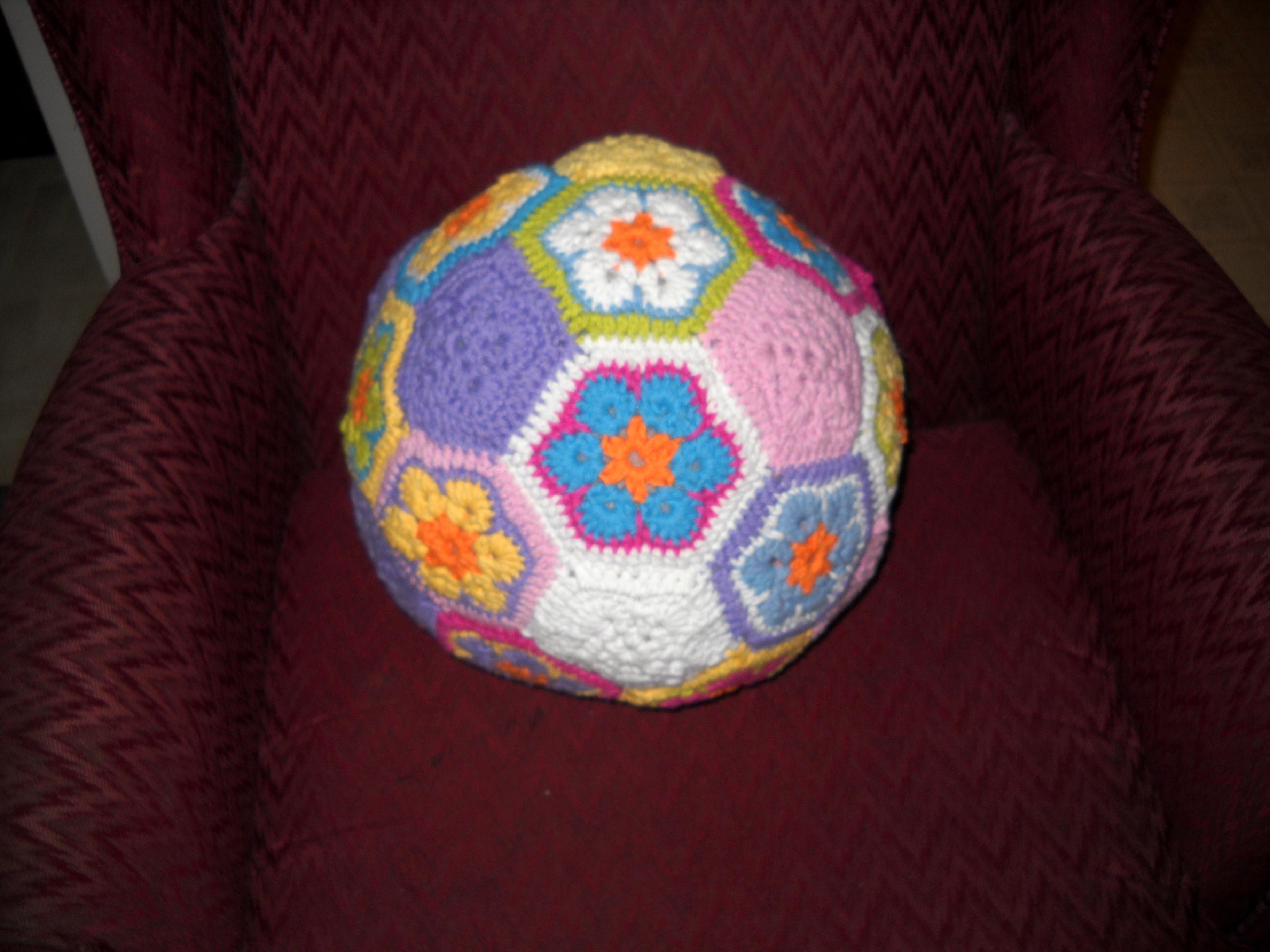 African Flower Soccer Ball1