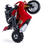 Upriser Ducati Authentic Panigale V4 S Remote Control Motorcycle with Rider at Spreetail (VMinnovations   VM Express)