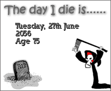 My Death Clock Calculation