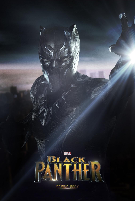 Black Panther movie poster 2 by omikonemswveridze on DeviantArt