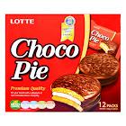 Lotte Chocolate Pie - 12 pack, 11.85 oz box