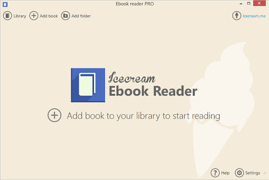Ebook Reader: free MOBI and EPUB reader for Windows - Icecream Apps