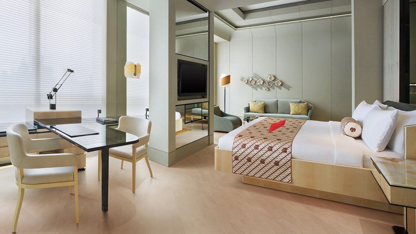 Hotel Bintang 5 Jakarta Keraton At The Plaza Jakarta