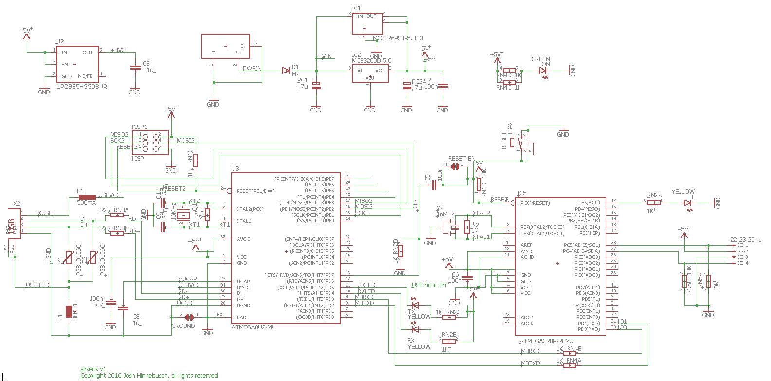 Custom Pcb From Arduino Schematics