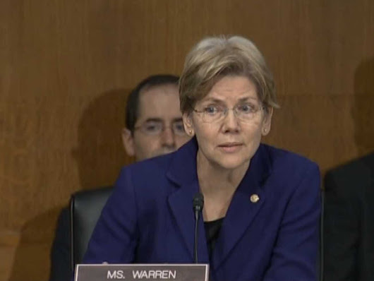 Elizabeth Warren Introducing A Bill That Would Be Wall Street's Worst Nightmare
