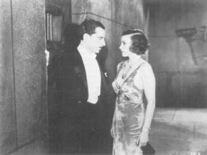 La actriz en una escena de 'Dos noches'. / Foto: Biblioteca Virtual Miguel de Cervantes.