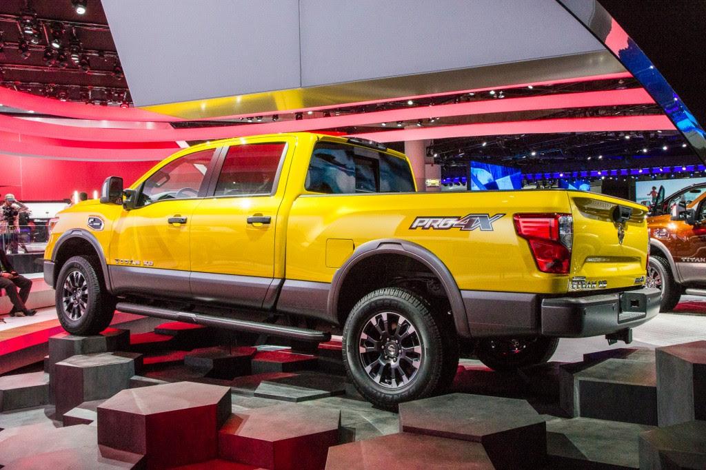 2016 Nissan Titan Gasoline