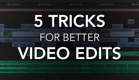 These 5 Video Editing Tricks Will Make Your Editing Faster and Your Videos More Enjoyable to Watch | Fstoppers