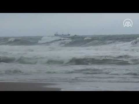 A Russian ship has sunk off the Turkish Black Sea coast, there are dead (VIDEO)