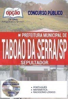 Apostila Concurso Prefeitura de Taboão da Serra 2017 | SEPULTADOR