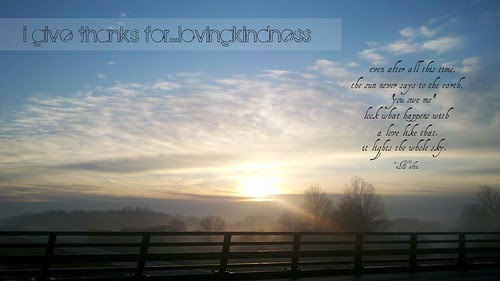 {Gratitude} Day 14 ~ Lovingkindness