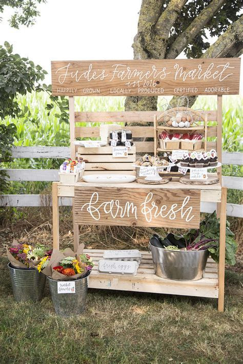Farmer's market 1st birthday party   Wedding & Party Ideas