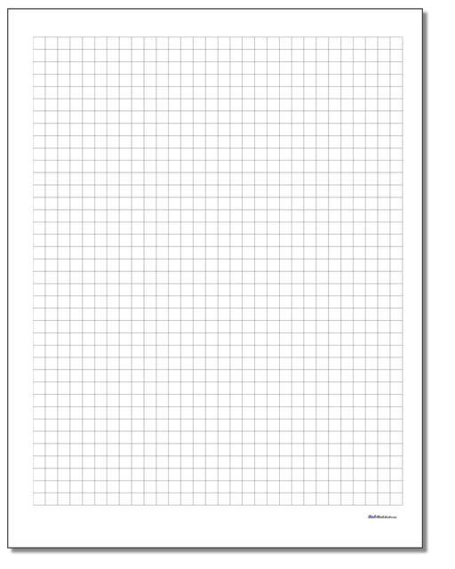 plain metric graph paper v1