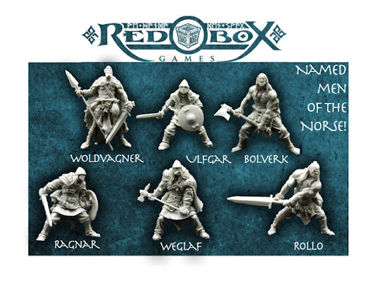 Red Box Games Norse Warrior Miniatures