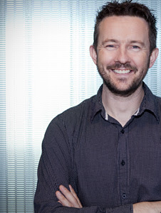 Crystal Dynamics Global Brand Director Karl Stewart