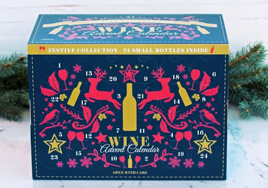 Aldi Festive Collection Wine Advent Calendar Available In Stores TODAY - STL Mommy