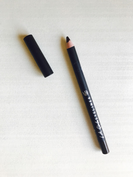 L.A. Girl Eyeliner Pencil in Medium Brown Review