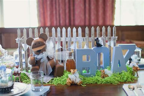 Elephant Themed Baby Shower for a Boy   The Celebration