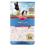 Kaytee Clean & Cozy Lavender Scented Small Animal Bedding, 500 Cubic Inch