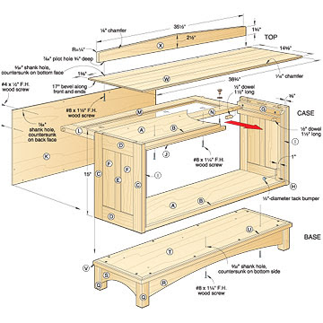 Barrister's Bookcase Woodworking Plan