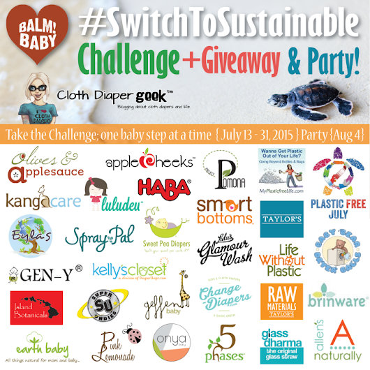 Switch To Sustainable Challenge, Giveaway & Party