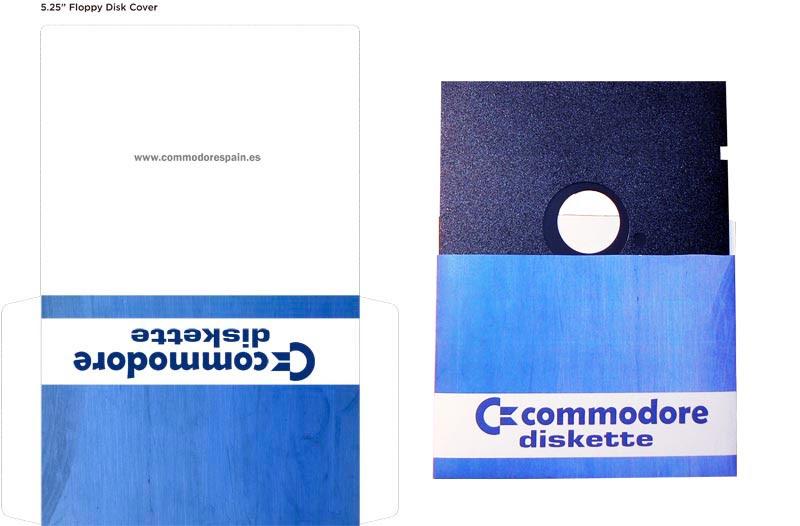 Plantilla Disco 5 pulgadas - Modelo2+Diskette