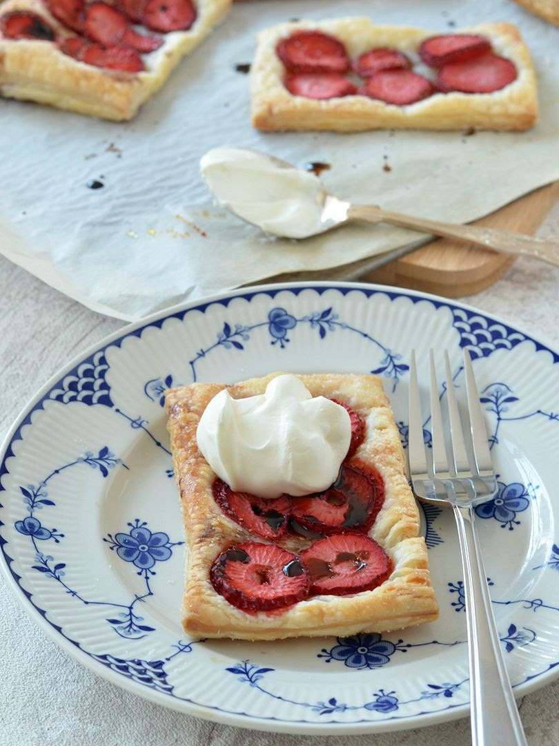 Strawberry & Balsamic Tarts