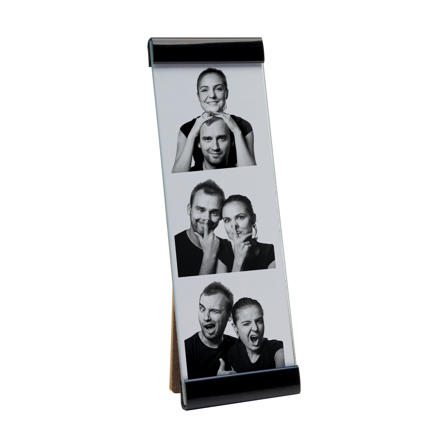 Photo Booth Frames Black Magnetic For 2 X 6 Photo Strips Photo Booth