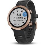 Garmin Forerunner 645 Music GPS Running Watch, Rose Gold