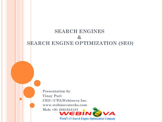 SEO explained by Best SEO Company Webinova India, UK, USA, UAE