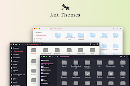 Ant is a Flat GTK Theme with a Bloody Bite