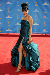 Naya Rivera at the 62nd Primetime Emmy Awards