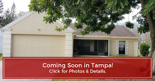 COMING SOON! 16124 Country Crossing Drive, Tampa, FL