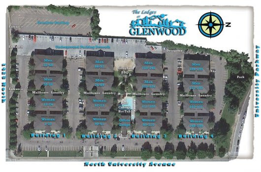 Apartments in Provo | (801) 374-9090 | The Lodges at Glenwood
