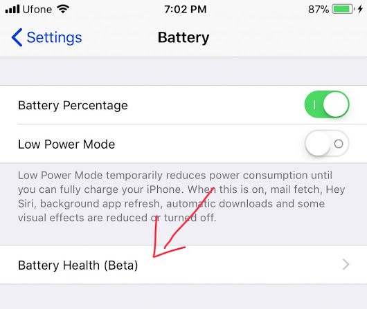Download Latest iOS 11.3 Beta 2 ipsw direct download with Battery Health Feature.