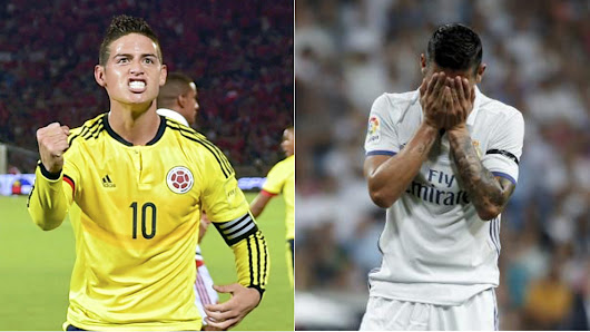 Colombian press demands Real to let James Rodriguez play