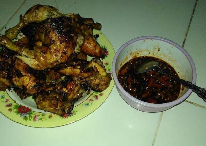Resep Ayam Bakar Bumbu Ungkep Anti Gagal