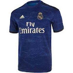 adidas Men's Real Madrid Away Jersey 2019-2020 | FJ3151 | Size Adult Small | Night Indigo