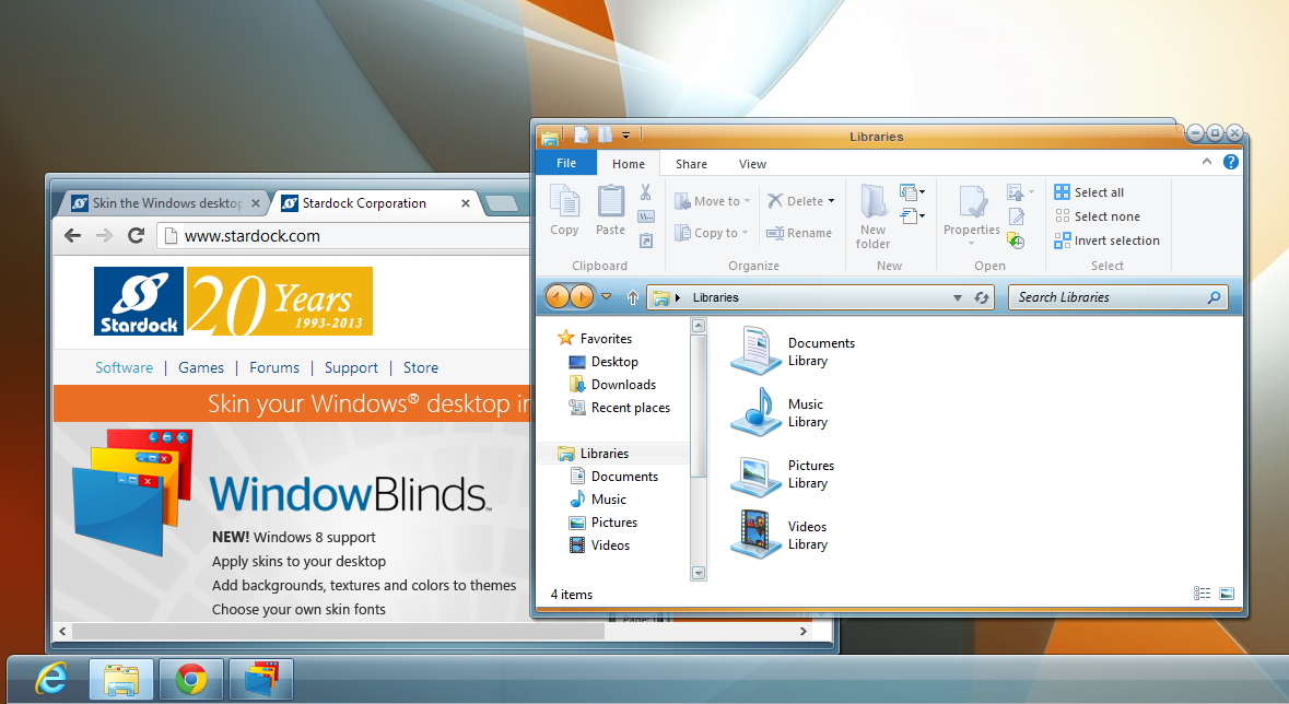 Stardock WindowsBlinds v8.0