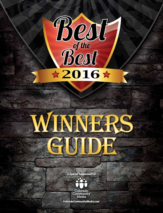 2016 Best of the Best Winners Guide