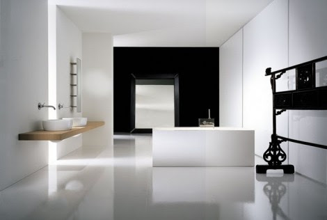Luxury White bathroom Design Pictures