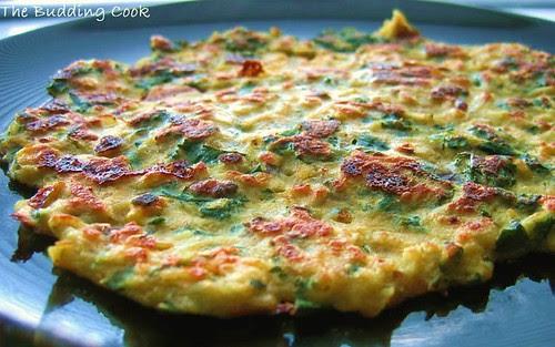 Kale-pot pancake