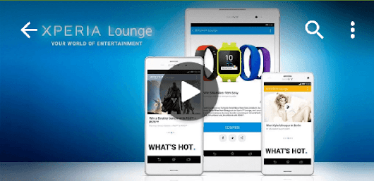 Xperia Lounge 3.3.16 app update brings improved interface