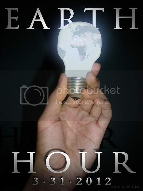 |earth hour 2012|8.30 pm - 9.30 pm|
