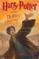 Harry Potter 7 Front Cover